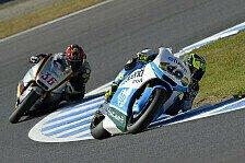 Moto2 - L�thi sichert sich Rang drei: Weltmeister f�hrt erstes Training an