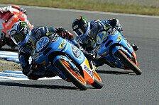 Moto3 - Hauchd�nn vor Salom: 2. Training: Rins schl�gt zur�ck