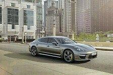 Auto - Leistung und Luxus f�r h�chste Anspr�che : Porsche Panamera Turbo S, der neue Top-GT