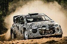 WRC - Hyundai: Intensive Tests im Oktober