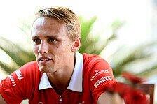 Formel 1 - Marussia-Cockpit gesichert?: Chilton freut sich �ber Magnussen-Deal