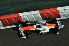 Formel 1 - Di Resta und Sutil in den Punkten: Force India trumpft mit Ein-Stopp-Strategie auf