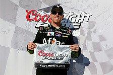 NASCAR - Johnson schneller als Kenseth: Edwards holt die Texas-Pole