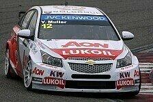 WTCC - Chevrolet dominiert: Muller in Shanghai auf Pole Position