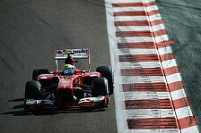 Formel 1 - Top-5-Platzierung w�re m�glich gewesen: Massa ungl�cklich mit der Reifenwahl