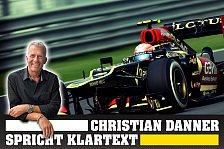 Formel 1 - Grosjean? Nicht schlecht, Herr Specht!: Danner spricht Klartext