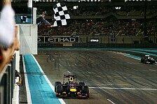 Formel 1 - Bilderserie: Abu Dhabi GP - Fahrer-Analyse
