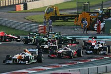 Formel 1 - Lokf�hrer Adrian Sutil: Abu Dhabi GP: Die Strategie-Analyse