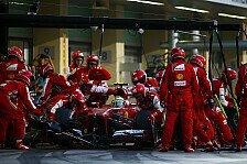Formel 1 - Falsche Reifen beim zweiten Stopp: Felipe Massa: Keine Zeit f�r Diskussionen