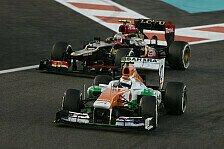 Formel 1 - H�tten mit Webber mithalten k�nnen: Grosjean verlor Podium hinter Force India