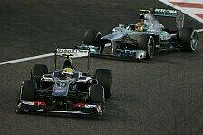 Formel 1 - Schwachpunkt �berholen: Mercedes: Ver�ndertes Setup beim Saisonfinale?