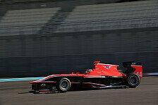 GP3 - Rote Flaggen f�r Kirchh�fer: Abu Dhabi, Tag 2: Rowland vorne