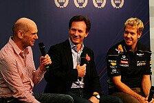 Formel 1 - Vettel und Co. stehen Rede und Antwort: Videos - Red Bull feiert den Titel