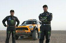 Dakar - Alle guten Dinge sind vier: Terranova startet mit X-Raid