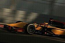 GP2 - Abt erneut in der Spitzengruppe: Abu Dhabi Test Tag 3: Vandoorne mit DAMS top