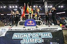 NIGHT of the JUMPs - Von sechs auf eins im Finale: Melero schockt die Konkurrenz