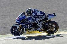 MotoGP - Wir wollen das Rennen gewinnen: Quali-Panne: Lorenzo gehen die Motoren aus