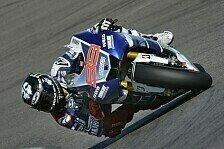 MotoGP - Marquez zum ersten Mal Zweiter: Lorenzo legt im Warm-Up vor
