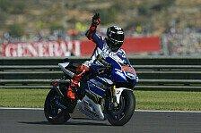 MotoGP - Keine Hilfe durch die Yamaha-Fraktion: Lorenzo: Die anderen Fahrer waren zu langsam