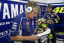 MotoGP - Geistig nicht mehr so schnell wie fr�her: Burgess: Rossi versucht �ber Grenzen zu gehen