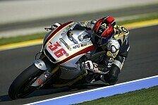 Moto2 - K�hler Wind in Valencia: Kallio am ersten Testtag vorn