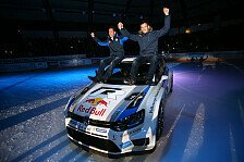 WRC - Gap vs Wolfsburg: Ogier und Latvala wagen sich aufs Eis