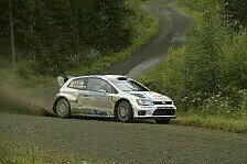 WRC - Kubica am Morgen verunfallt: Wales: Doppelf�hrung f�r Volkswagen