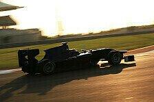 GP3 - Fokus auf Aerodynamik und Reifen: Evans absolviert Testfahrten im Entwicklungsauto
