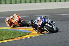 MotoGP - Yamaha klar voraus: H�herer Kurvenspeed oberste Priorit�t bei Honda