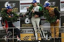 Mehr Motorsport - Illustres Trio: Bamber, Loeb und Ragginger in Macau auf dem Podium