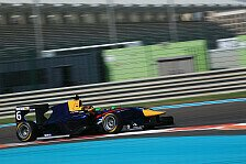 GP3 - Marvin Kirchhöfer in Abu Dhabi