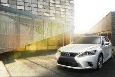 Auto - Weltpremiere des modellgepflegten CT 200h: Lexus auf der Guangzhou Motor Show