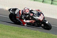 MotoGP - Vor uns liegt ein weiter Weg: Hayden sammelt Erfahrung mit dem Production-Racer
