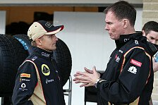 Formel 1 - Reifenwahl bei k�hlem Wetter eine gro�e Herausforderung: Alan Permane: Romain am H�hepunkt