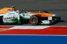 Formel 1 - Im Mittelfeld, doch Platz nach oben: Force India: Sutil schnuppert an Top-10