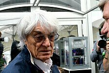 Formel 1 - Zweifel an den US-Pl�nen: Ecclestone sieht Haas-Pl�ne skeptisch