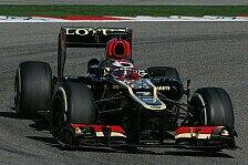 Formel 1 - Schneller als Grosjean: Gelungener Einstand f�r Kovalainen bei Lotus