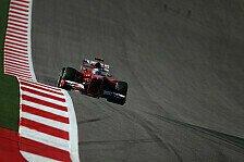 Formel 1 - M�ssen realistisch sein: Alonso: Platz zwei f�r Ferrari zu optimistisch