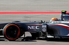 Formel 1 - St�rke dringend erforderlich: Gutierrez: Punkte hoffentlich in Reichweite