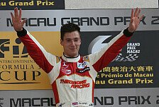 Mehr Motorsport - Marciello wirft das Auto weg: Alex Lynn gewinnt Macau GP der Formel 3