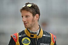 Formel 1 - Mehr Selbstvertrauen gewonnen: Grosjean: Gehe weiter zum Psychologen