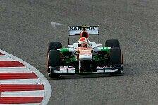 Formel 1 - Verhextes Qualifying f�r Sutil: Sutil: Zuerst Verkehr, dann Defekt