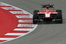 Formel 1 - Balanceprobleme bei Chilton: Marussia: Fortschritte �ber Nacht