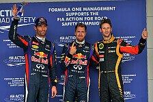 Formel 1 - Auf der letzten Rille zur Pole: Vettel: Webber-Fehler eiskalt ausgenutzt