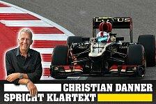 Formel 1 - Spitzenvertreter der jungen Generation: Christian Danner spricht Klartext