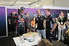 Formel 1 - Bilder: US GP - Kuchen-Attacke auf Horner