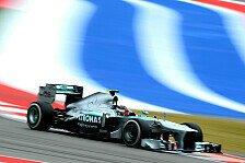 Formel 1 - Vettel schneller als �blich: USA-Topspeeds: Riesen-Unterschiede bei Mercedes
