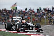 Formel 1 - In Monza das Gaspedal gefunden: H�lkenberg: Alonso hat stark zugemacht