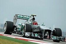 Formel 1 - Auto wie Tag und Nacht: Hamilton froh: Neues Chassis funktioniert