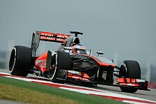 Formel 1 - Kompromiss-Chrompfeil in Austin: Button: Britischer Rekord eingestellt